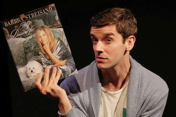 """The play """"Buyer and Cellar"""" comes to the Westport Country Playhouse, starring Michael Urie as an out-of-work actor tasked with minding Barbra Streisand's private basement shopping mall. The play is fiction, but the mall really exists."""