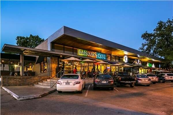 The South Heights Retail Center, a 31,068-square-foot project at 2802 White Oak Drive, has changed hands. Tenants include Barnaby's Cafe, Christian's Tailgate, Tacos A Go-Go, Rita's Italian Ice and Pho Binh Noodle and Grill.