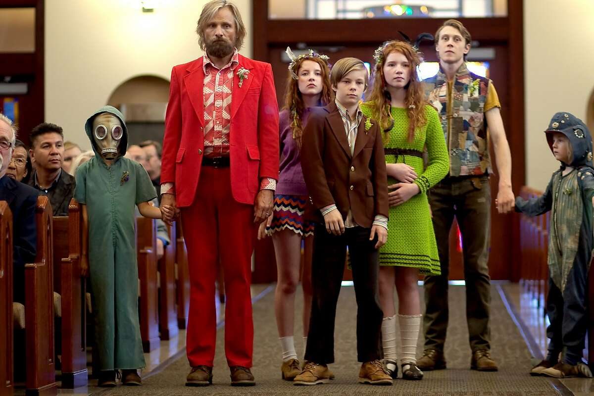 Captain Fantastic coming July 8. In the forests of the Pacific Northwest, a father devoted to raising his six kids with a rigorous physical and intellectual education is forced to leave his paradise and enter the world, challenging his idea of what it means to be a parent. Starring: Viggo Mortensen, Frank Langella, Kathryn Hahn, George MacKay.