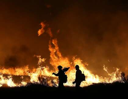 Causes of California's worst wildfires: power lines, lightning