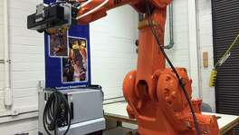 Southwest Research Institute researchers are working on human tracking technology to give industrial robots the ability to distinguish between humans and other objects.