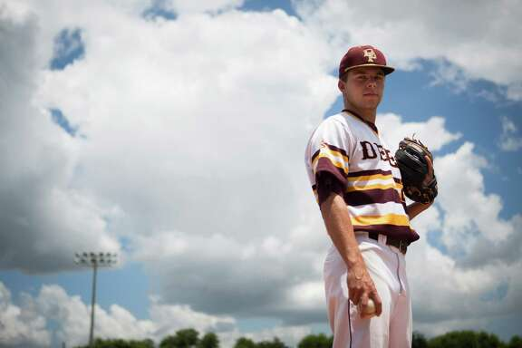 All Greater Houston Pitcher of the Year Cameron Thompson, from Deer Park High School. Thursday, June 23, 2016, in Deer Park. ( Marie D. De Jesus / Houston Chronicle )