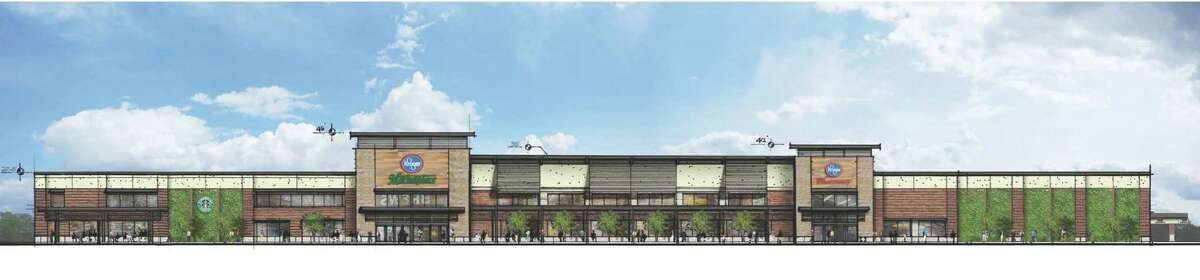 The Kroger Marketplace at Spring Pines Shopping Center will sit on a 14-acre site.