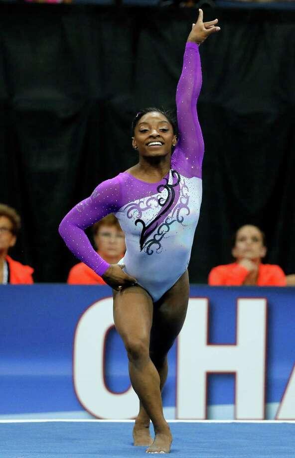 Spring S Simone Biles Dominates At Gymnastics Nationals