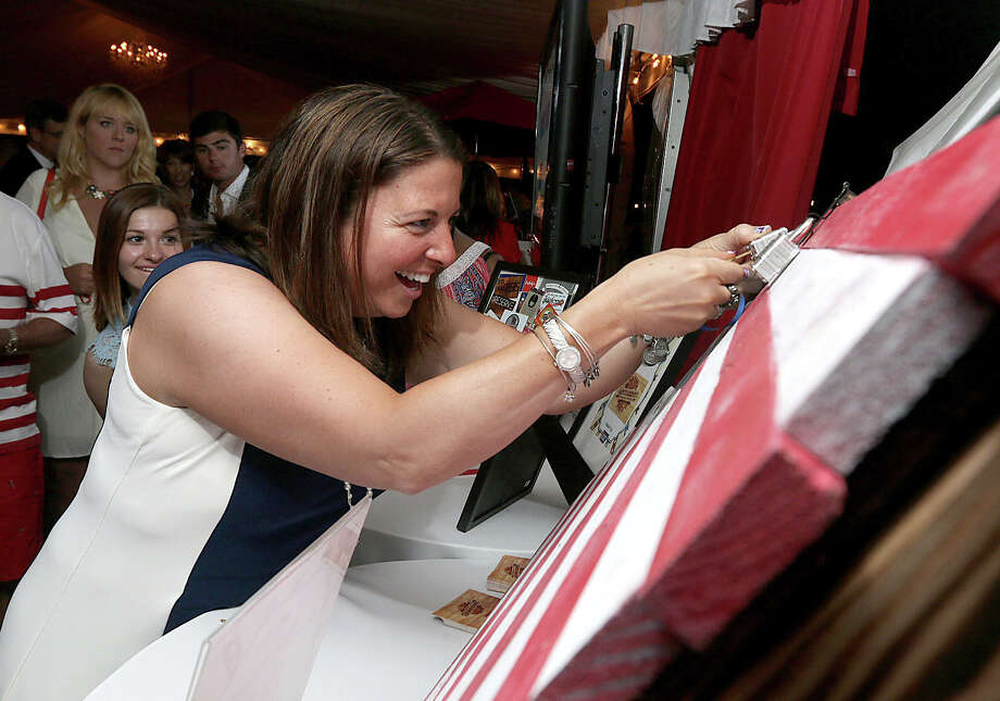 Were you Seen at the American Cancer Society's Red, White and Blue Party at  the Saratoga National Golf Club in Saratoga Springs on Friday, June 24,  2016? Photo: Joe Putrock/Special To The Times Union