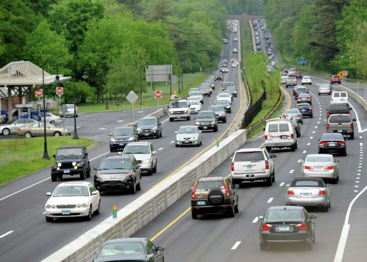 Connecticut's endangered words and phrases Parkway:A broad street or highway laid out with strips of lawn often planted with trees or shrubs.
