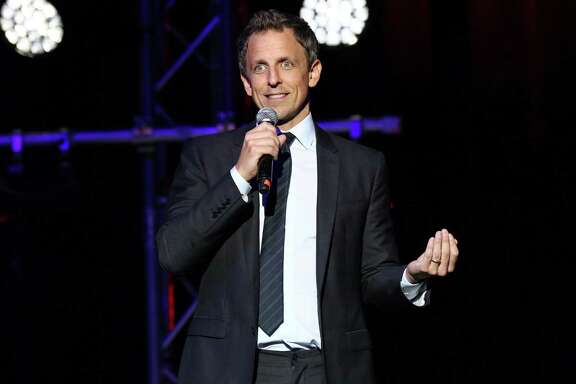 Late-night host Seth Meyers is doubling down on his attacks against presidential candidate Donald Trump.