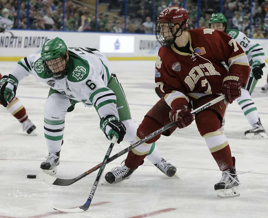 ICE HOCKEYNumber of U.S. high school athletes 2016-17: Men: 35,210   Women: 9,599Number playing in college:    Men: 3,687   Women: 1,736Percentage: Men: 10.5%     Women: 18.1% Photo: Chris O'Meara, AP