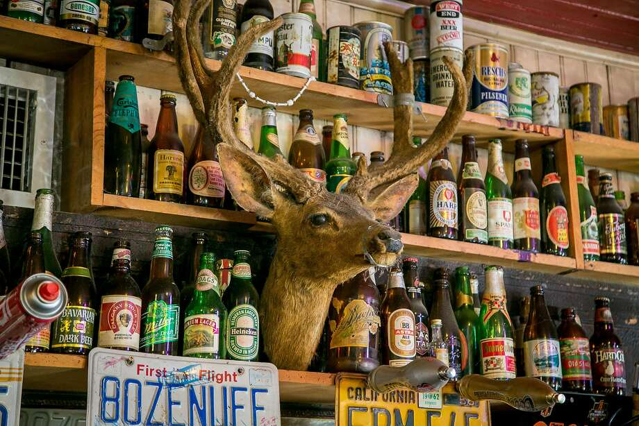 The interior of Alpine Inn in Portola Valley, a legendary watering hole. Photo: John Storey, Special To The Chronicle