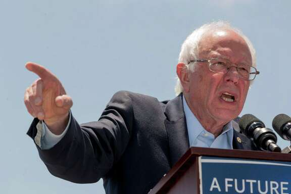 Sen. Bernie Sanders said Friday he would vote for presidential candidate Hillary Clinton, the presumptive nominee, in the fall election.