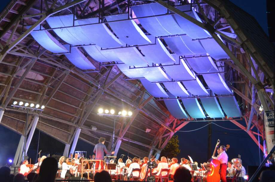 The annual Barnum Festival Pops Concert and fireworks show was held on June 25, 2016 at Seaside Park. Each year, the Greater Bridgeport Symphony Orchestra serenades the crowd before the Skyblast Fireworks. Were you SEEN? Photo: Vic Eng / Hearst Connecticut Media Group