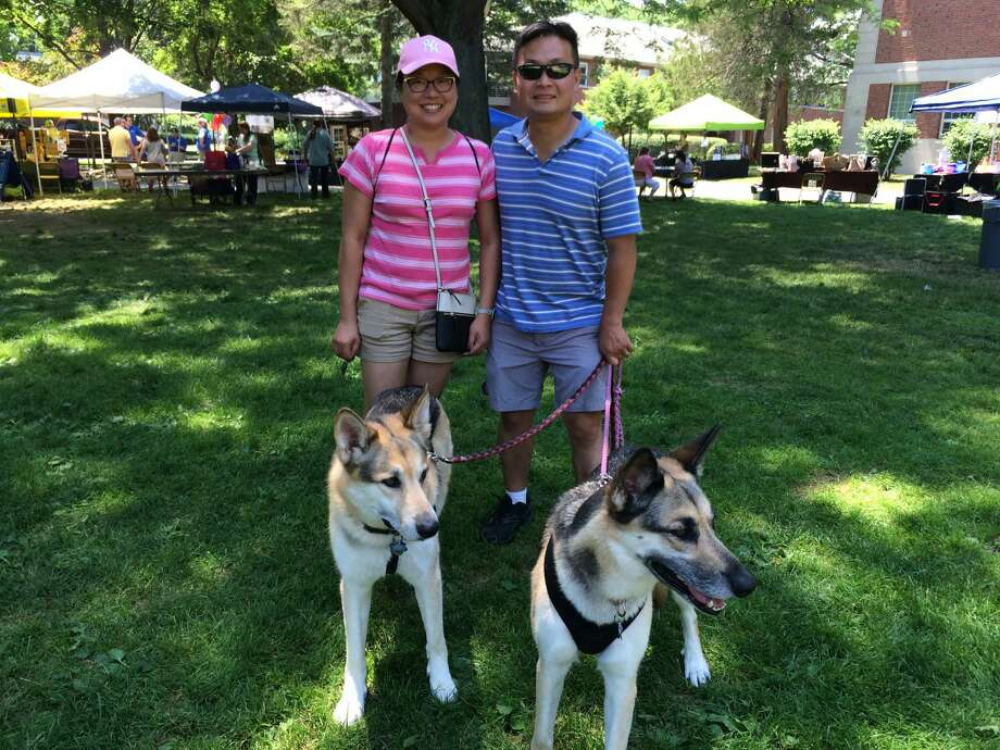 Were you Seen at the Seventh Annual Paws in the Park Annual Walk and Community Day held at Siena College in Loudonville on Saturday, June 25, 2016? The event supports programs and services at the Mohawk Hudson Humane Society Photo: Catherine Carrier, Marguerite Pearson