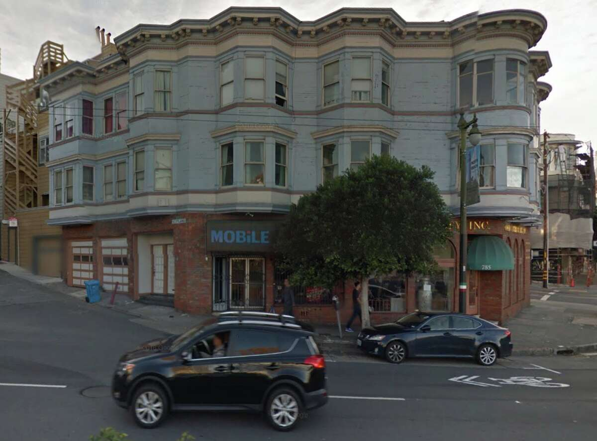 The apartment building on the corner of Columbus and Scotland streets in San Francisco's North Beach was a filming location in Clint Eastwood's Dead Pool. It's also where Neil Hutchinson is a tenant facing a dramatic rent increase.