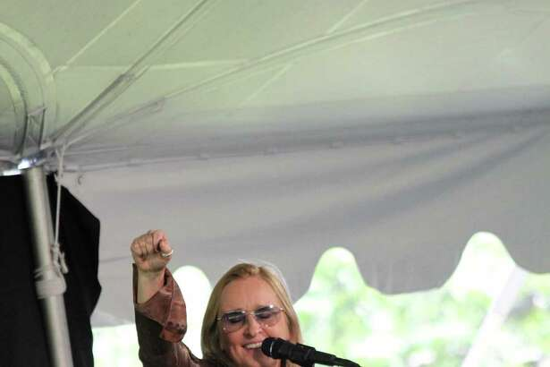 Bridgeport Hospital's Norma Pfriem Breast Center announced that its June 14 Rose of Hope Luncheon featuring singer-songwriter Melissa Etheridge (pictured) raised a total of $580,000. Photo courtesy of Bridgeport Hospital