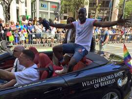 Actor Michael K. Williams attends the SF Pride parade in 2016.