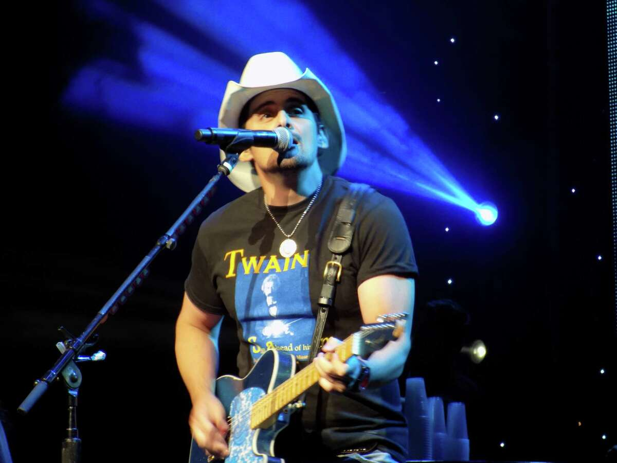 14. Brad Paisley - $18.5 million During Forbes' scoring period, Paisley boasted his performing skills in front of 71 concert audiences.