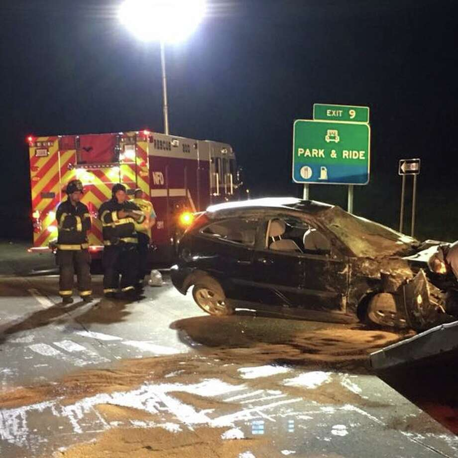 Firefighters respond to Route 25 accident - GreenwichTime