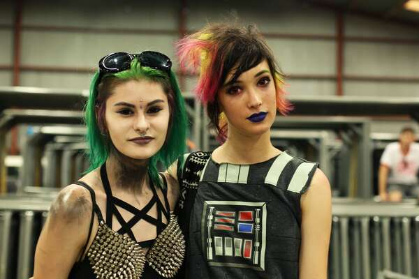 San Antonio rock fans gorged themselves on dozens of acts during the Vans Warped Tour Saturday, June 25, 2016, at the AT&T Center.