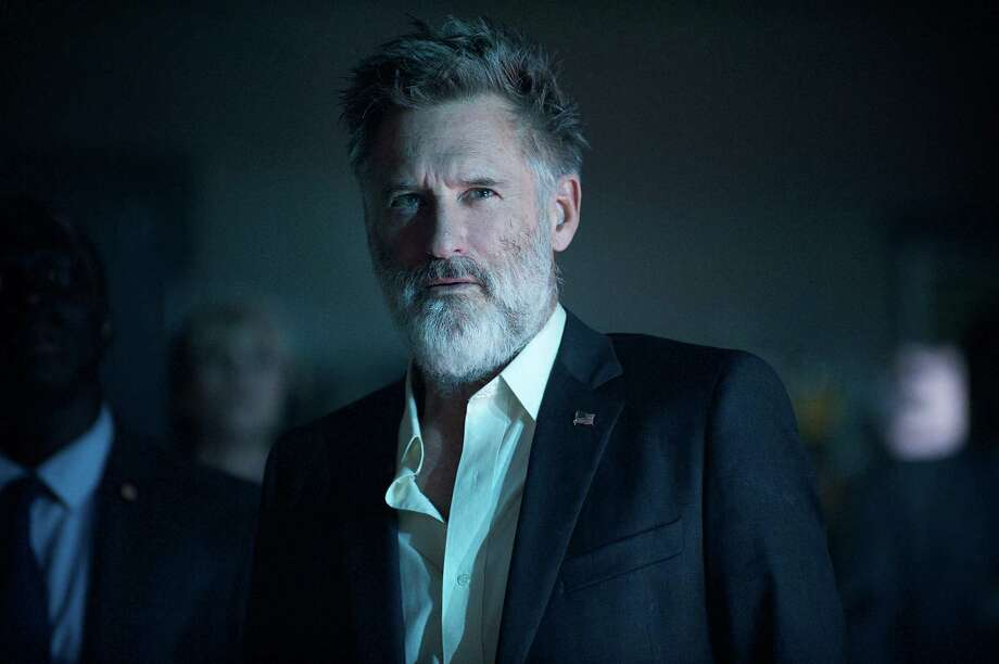 "This image released by Twentieth Century Fox shows Bill Pullman as Thomas Whitmore in a scene from ""Independence Day: Resurgence."" (Claudette Barius/Twentieth Century Fox via AP) ORG XMIT: NYET462 Photo: Claudette Barius / Twentieth Century Fox"