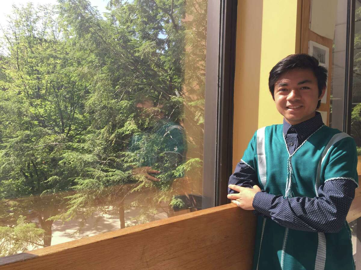 Ar Kee, an Albany High School graduate, is the first in his family to graduate high school. His family fled the Mae La refugee camp in Thailand for the U.S. in 2008 when he was 9 years old.