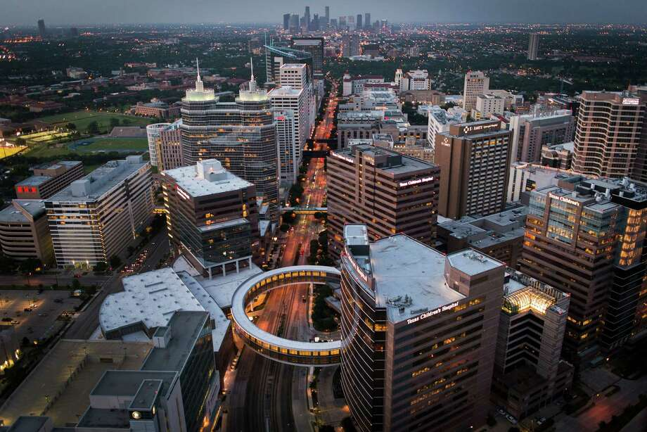 In 25 to 50 years, the Texas Medical Center likely will continue to be a hub for medical advancement and care, but its role for patients will change. Photo: Smiley N. Pool, Staff / © 2013  Houston Chronicle