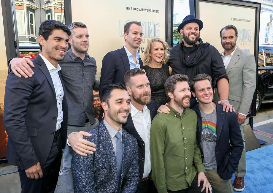 The cast of the HBO movie Looking pose for photos at the premier at the Castro Theater in San Francisco on Sunday, June 26, 2015. Photo: Amy Osborne, Special To The Chronicle