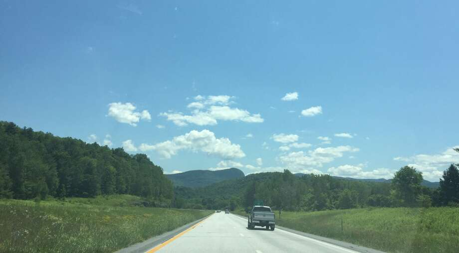 Click through the slideshow for a small road trip through Vermont. A view of the scenery near Castleton on the way to Waterbury, VT. Photo: Sarah Diodato