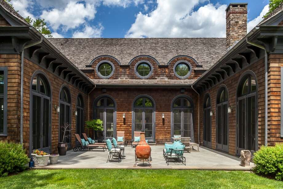 2 Driftway Ln, Darien, CT 06820 5 beds 6 baths 8,239 sqft  Features: Outdoor  terrace, breakfast nook, two-sided wood burning fireplace,  View full listing on Zillow Photo: Zillow