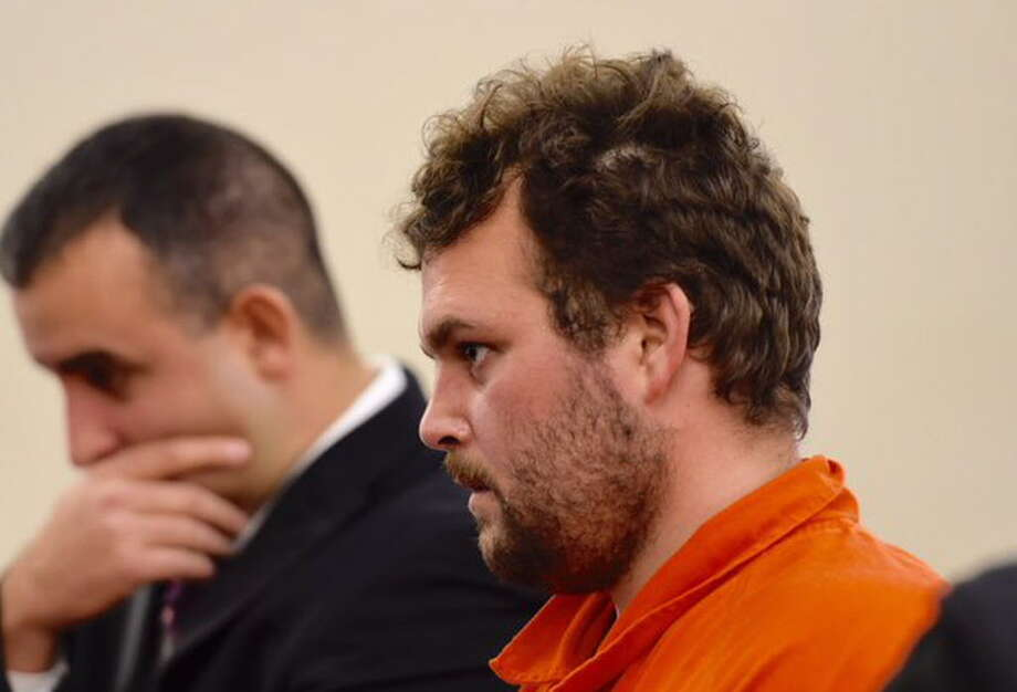 Sean Moreland, 32, appears in Albany County Court Friday morning. A suspec in the killing of barber Jacquelyn Porreca, Moreland of Colonie rejected a plea bargain offer in an unrelated burglary case. (Skip Dickstein / Times Union)