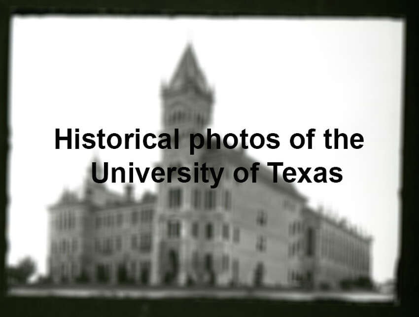 Scroll through the slideshow to see early photographs of the UT campus, dating back more than 100 years.