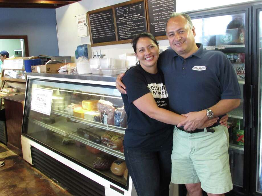 Roland and Ruby Polanco, owners of Delivery Market on East Houston, have announced that the deli had closed. Photo: File Photo /San Antonio Express-News / San Antonio Express-News