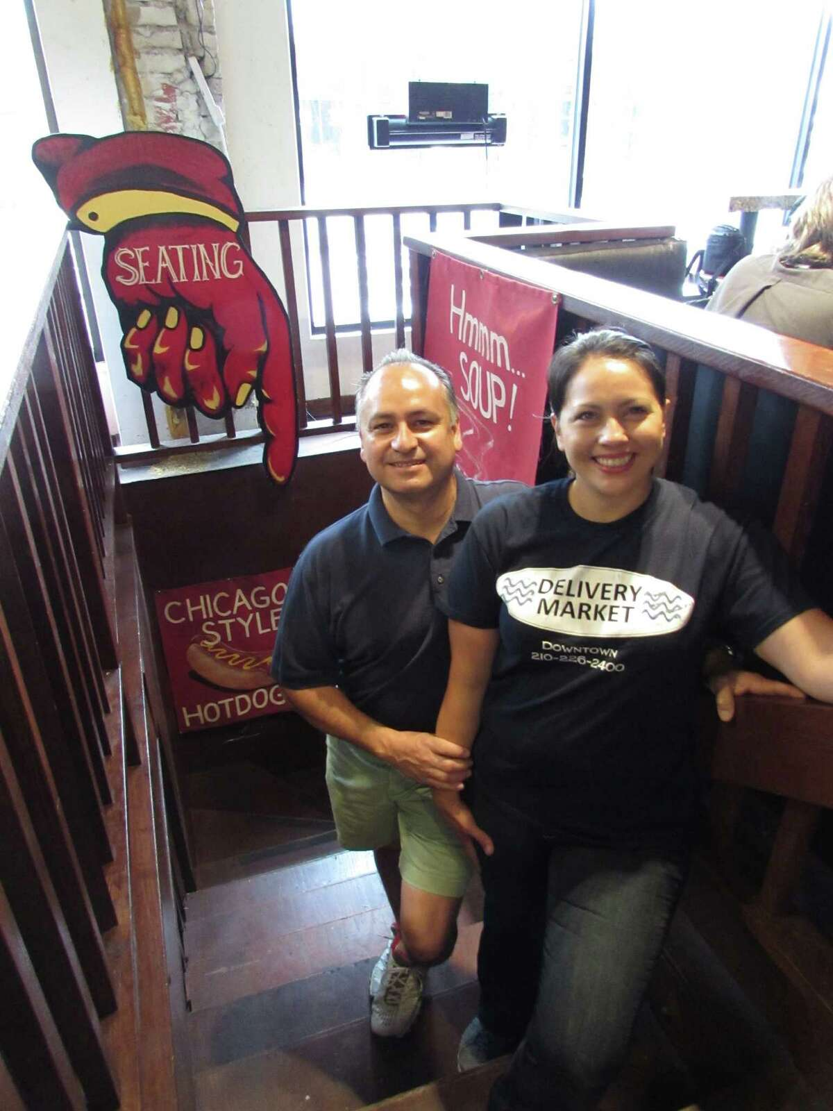 Delivery Market owners Roland and Ruby Polanco thanked regulars for their business and hinted at possible future projects.