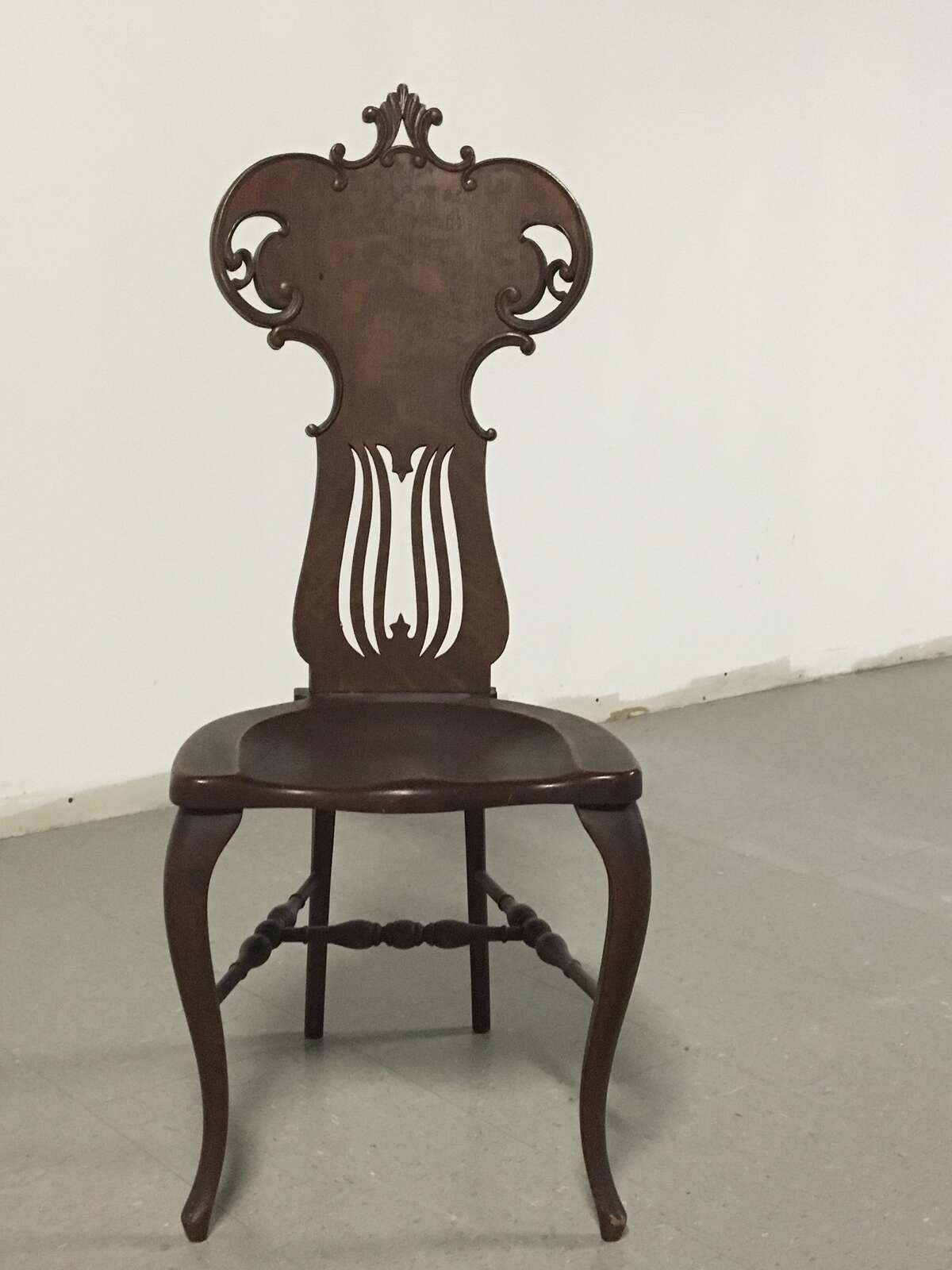 There's a cultural shift in antiques collecting. Today's buyers rarely want what was hot a generation or two ago. Victorian chairs like this one might seem detailed and beautiful, but would likely gather dust in an antiques store or at auction.