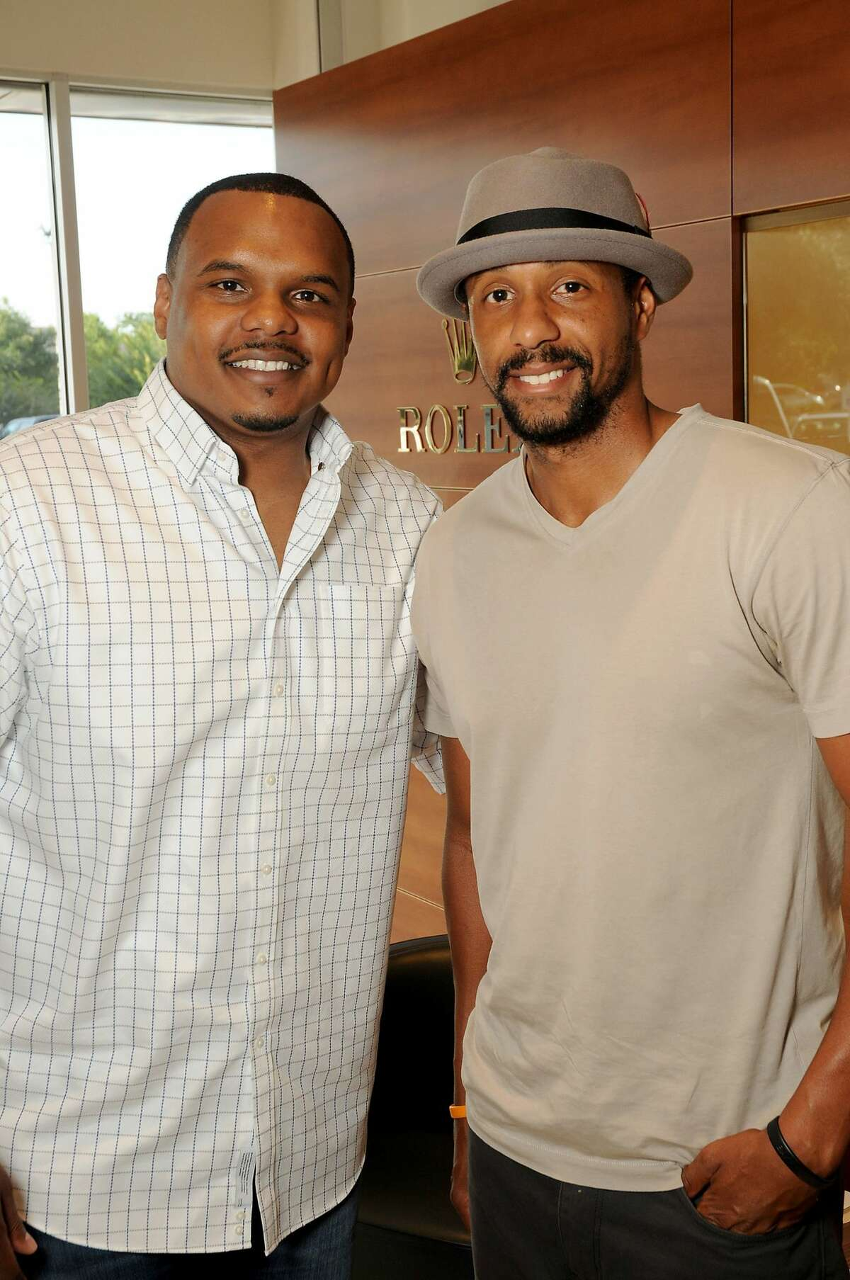 Chester Pitts and Ryan Pitts