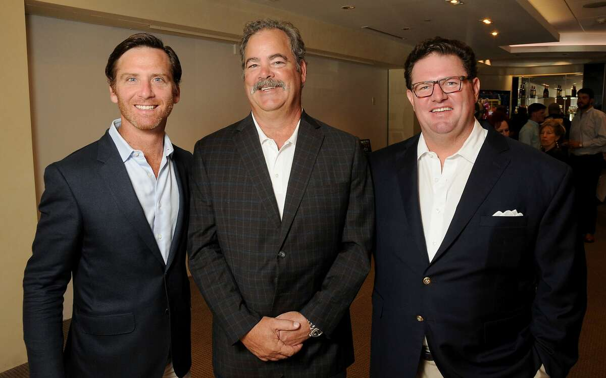 From left: Chairs David Hartland, Cal McNair and Paul Doyle