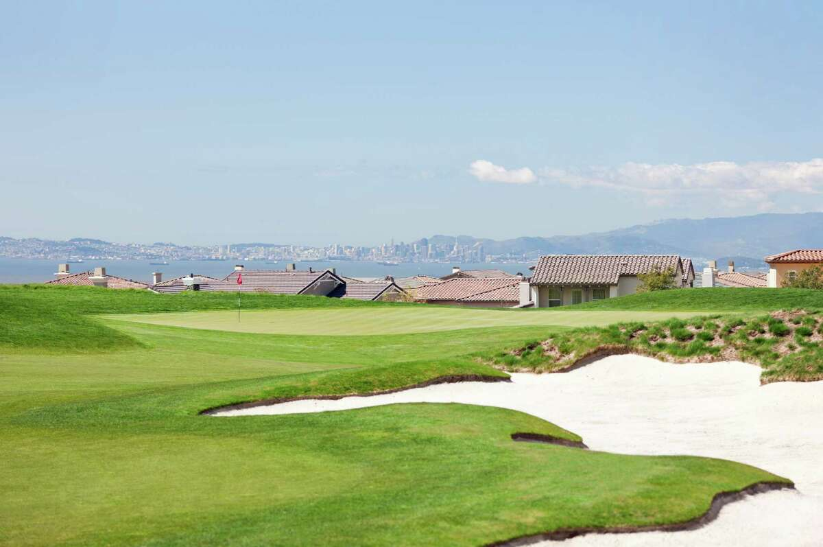 The second hole at TPC Stonebrae Country Club in Hayward.