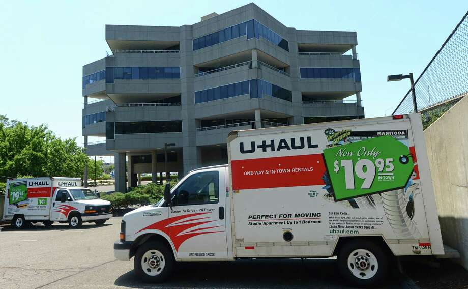 The former Shore Pointe office building at 1 Selleck St. in Norwalk, Conn. on Saturday, June 25, 2016. In mid-June, U-Haul International parent Amerco Real Estate purchased Shore Pointe for $4.7 million. Photo: Erik Trautmann / Hearst Connecticut Media / (C)2016, The Connecicut Post, all rights reserved