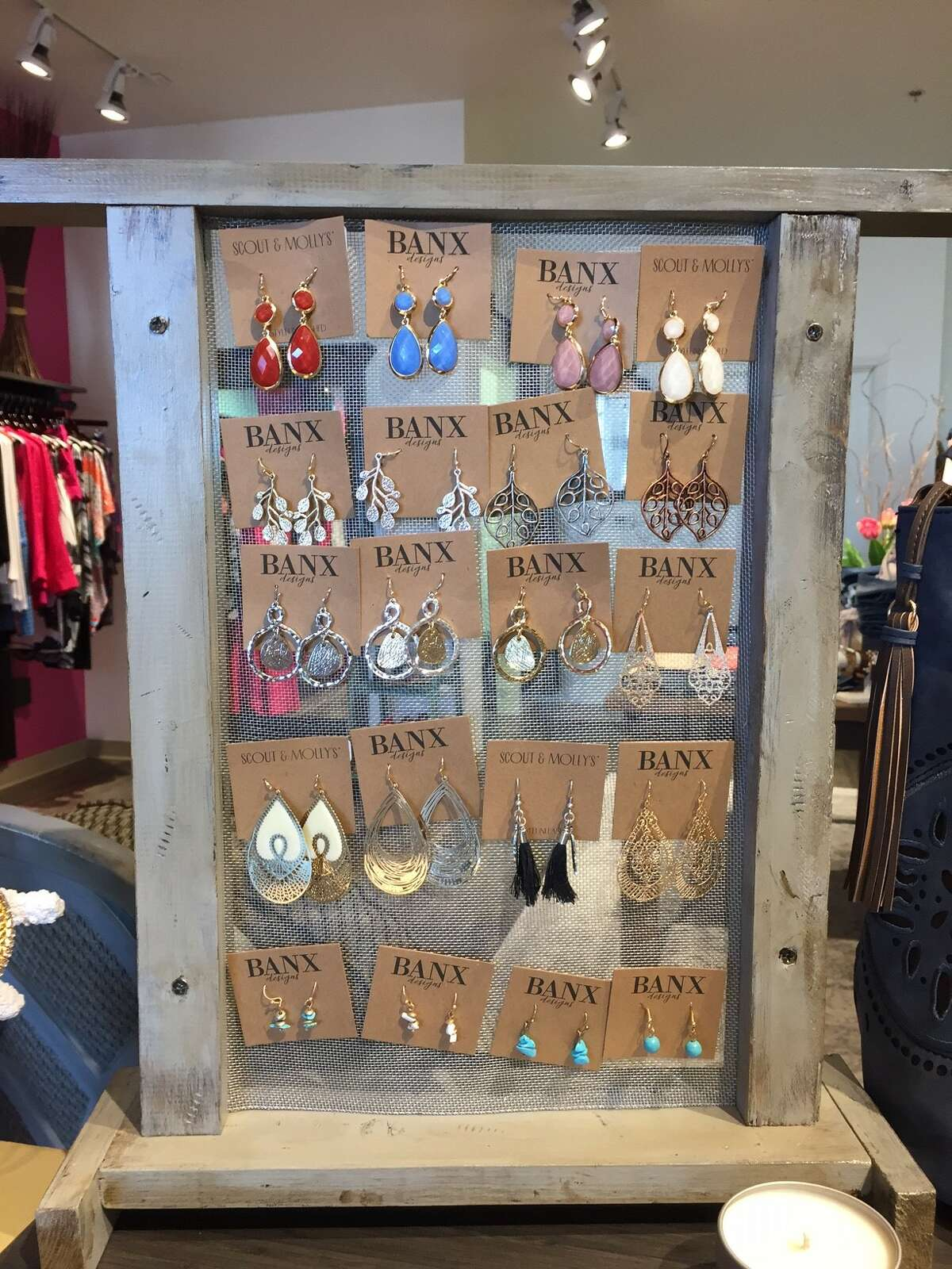WHAT YOU'LL FIND: Scout & Molly's earrings, from $16 to $36.