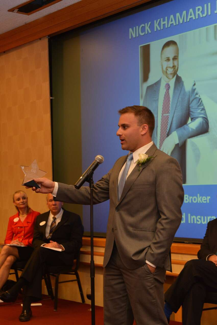 Nick Khamarji Jr., New England Insurance, Bridgeport at the Fairfield County Business Journal 40 Under 40 celebration on June 21, 2016.