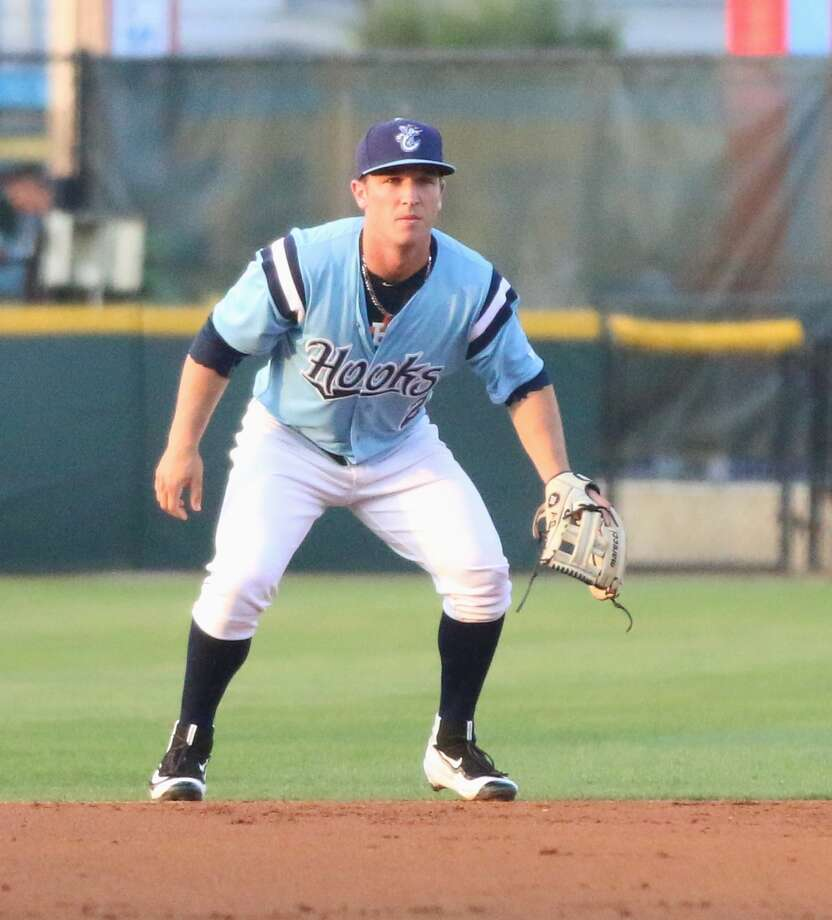 Alex Bregman spent time at shortstop and third base during his stint with Class AA Corpus Christi this season. (Photo courtesy Amanda Pruett / Corpus Christi Hooks) Photo: Amanda Pruett / Corpus Christi Hooks
