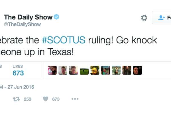 The Daily Show tweeted a message that has upset some users.