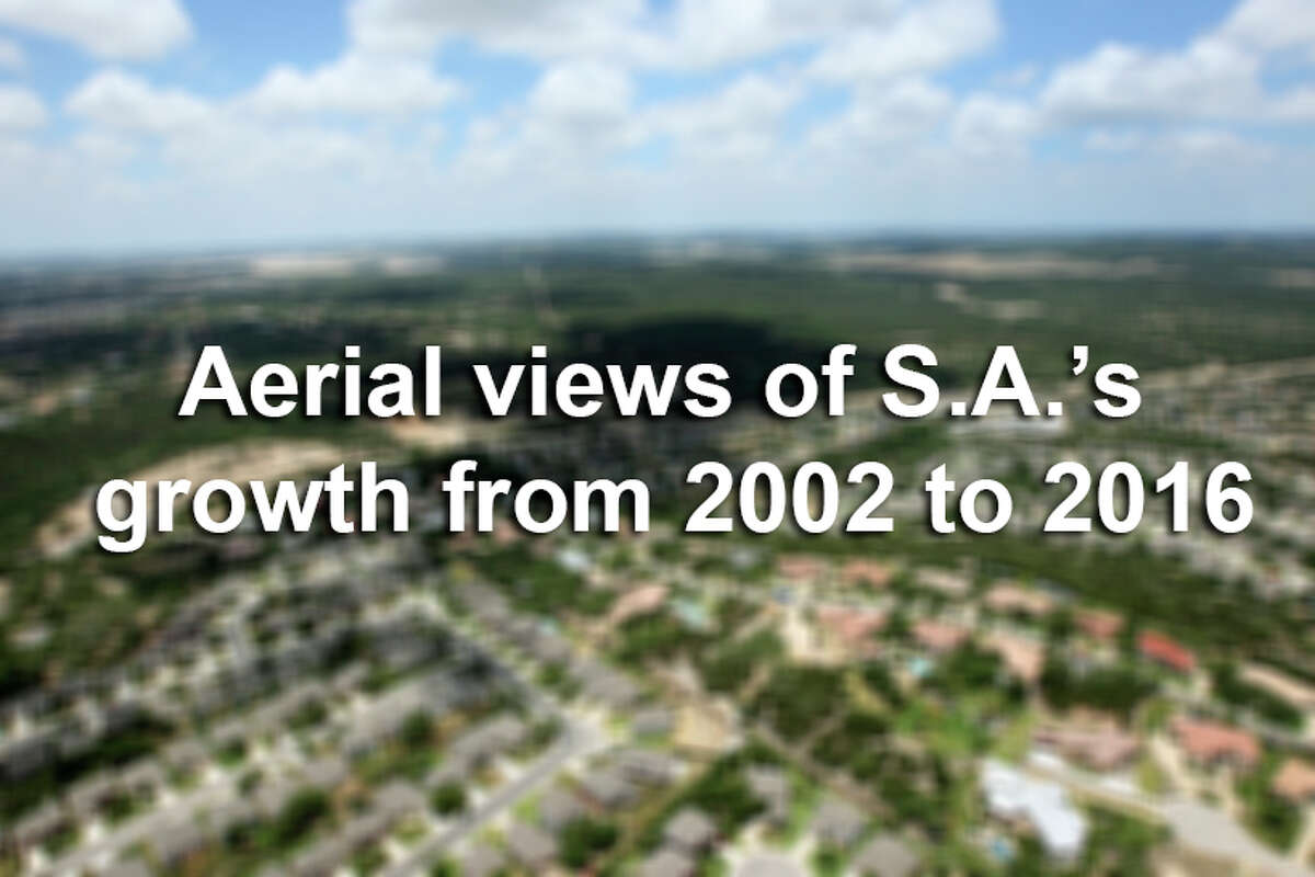 Already the seventh largest city in the country with 1.4 million people, San Antonio is expected to add another 1.1 million residents over the next 25 years. Scroll through the slideshow for aerial views of how the city has developed since 2002.