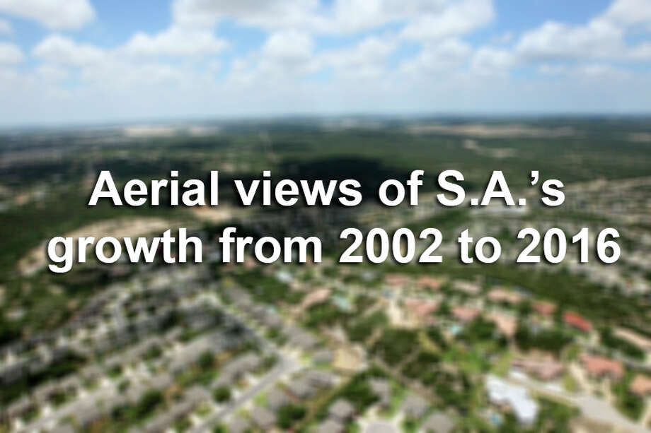 Already the seventh largest city in the country with 1.4 million people, San Antonio is expected to add another 1.1 million residents over the next 25 years. Scroll through the slideshow for aerial views of how the city has developed since 2002. Photo: GLORIA FERNIZ/SAN ANTONIO EXPRESS-NEWS