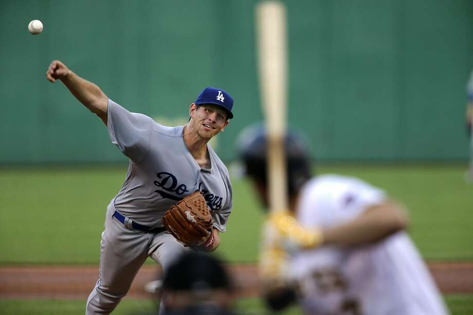 Los Angeles Dodgers starting pitcher Nick Tepesch delivers in the third inning of a baseball game against the Pittsburgh Pirates in Pittsburgh, Friday, June 24, 2016. (AP Photo/Gene J. Puskar) Photo: Gene J. Puskar, Associated Press