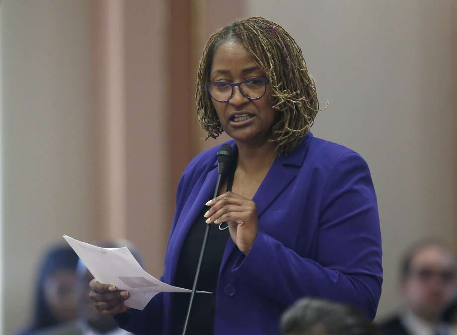 "Sen. Holly Mitchell, D-Los Angeles, the bill's author, said openness and accountability ""are key to establishing and keeping"" public trust in the system. Photo: Rich Pedroncelli, Associated Press"