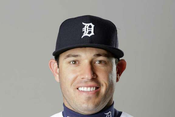 This is a 2016 photo of Ian Kinsler of the Detroit Tigers baseball team. This image reflects the 2016 active roster as of Saturday, Feb. 27, 2016, in Lakeland, Fla., when this photo was taken. (AP Photo/John Raoux)
