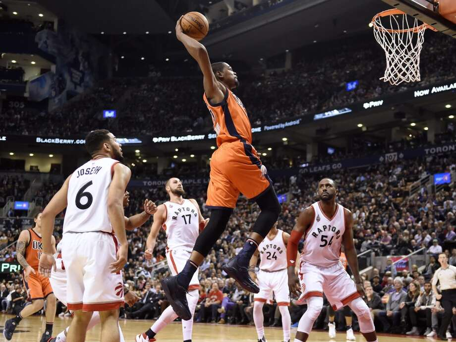 9. The man is a gazelle, and his ability to run and dunk would fit in wondrously with a team that led the league last year in fast break points per game (19.5). Photo: Frank Gunn, AP