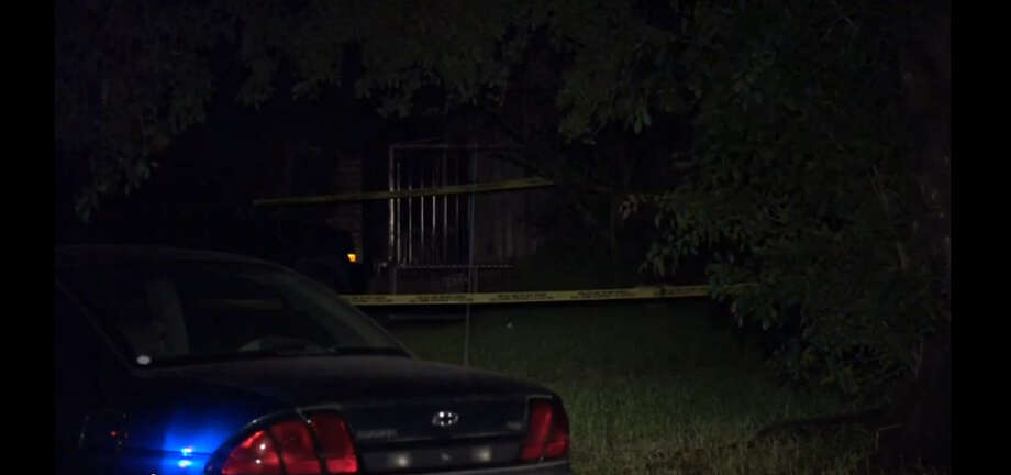 One person is in the hospital after a teenager fired gunshots at three other teens who attacked him about 1 a.m. Tuesday, June 28, 2016, outside his home in the 4700 block of Waring in southwest Houston. (Metro Video)