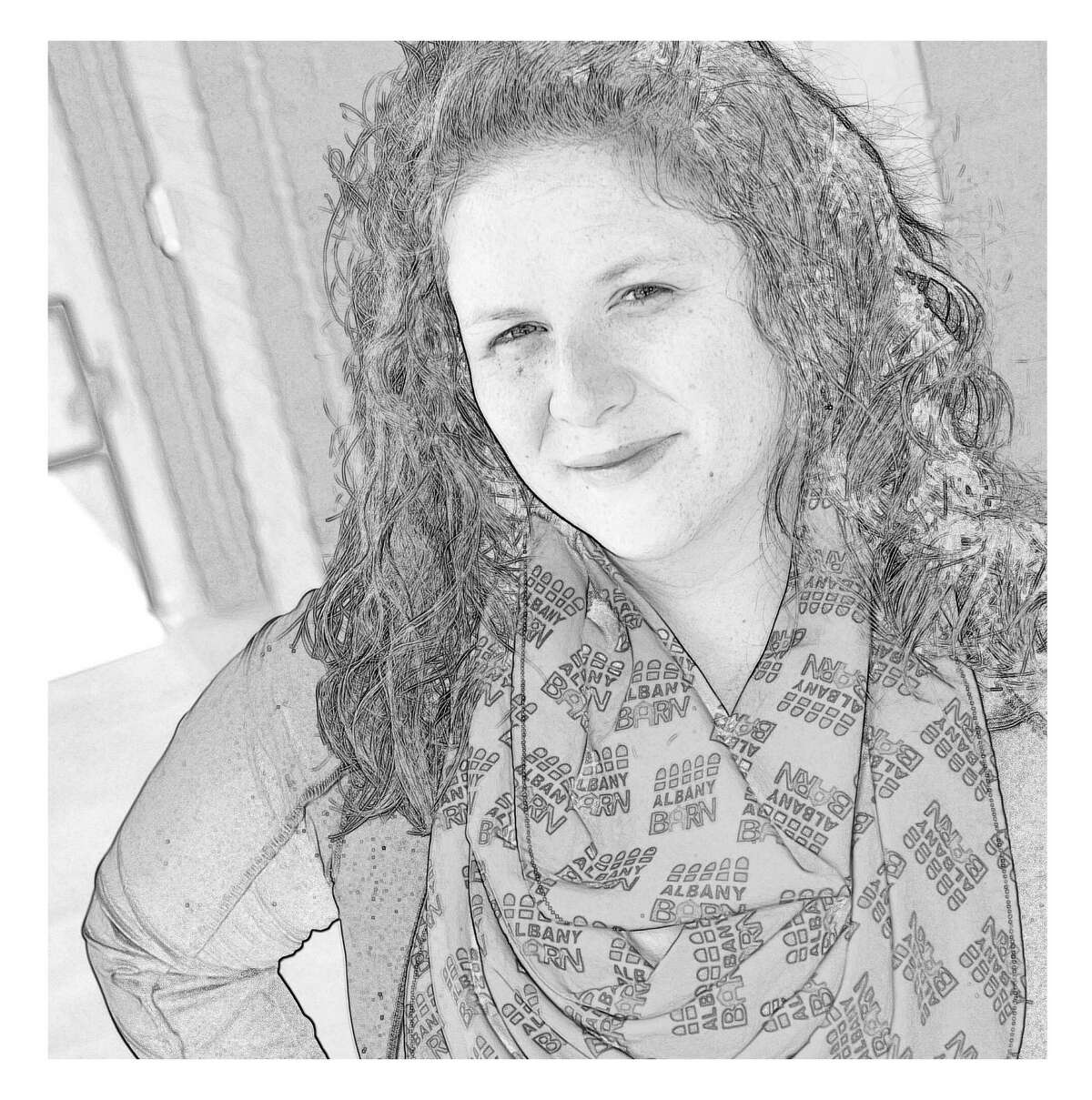 Photo illustration of Kristen Holler, executive director at the Albany Barn. (Tyswan Stewart / Times Union)