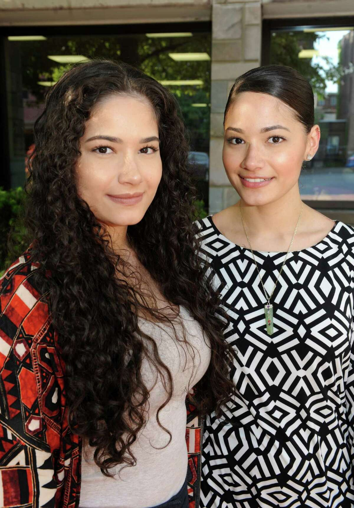 Twin sisters Marleen and Mayleen Rivera founders of I Am Strong, a nonprofit that works to empower incarcerated women, on Wednesday May 25, 2016 in Albany, N.Y. (Michael P. Farrell/Times Union)
